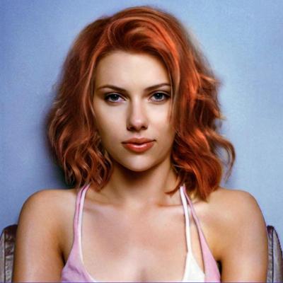 La vraie Scarlett johansson
