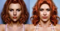 Les 2 cotés de Scarlett Johansson